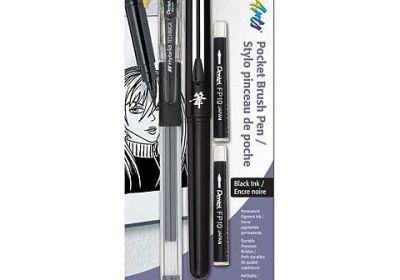 Pentel Brush Pen W/2RFL