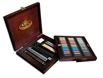 R&L Artist Premier Pastel 56 pc boxed set