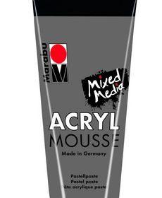 Marabu Mixed Media Acryl Mousse-Lt Grey