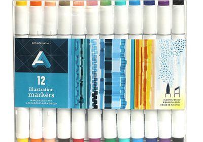AA Illustration Marker Set 24