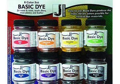 Jacquard 8 Color Basic Dye Set