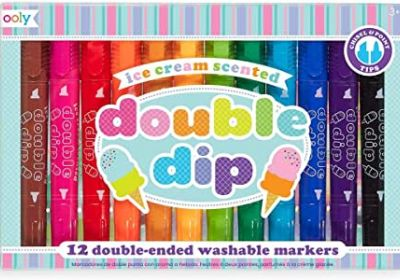 Ooly Ice Cream Scented Double Dip Markers