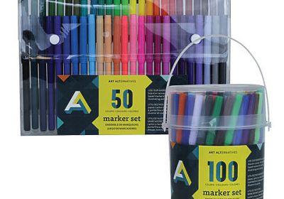 AA markers 100 tub