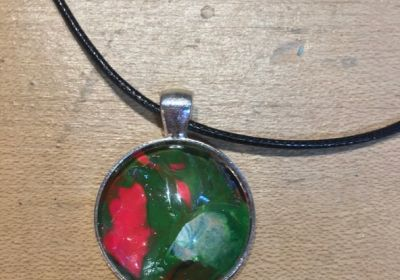 Acrylic Pour Necklace-18