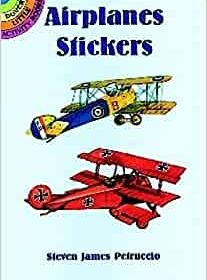 Small Format Sticker Books, Airplanes