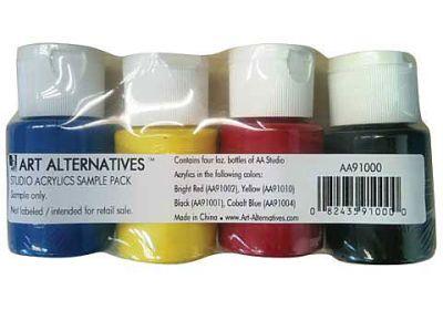 AA Acrylic Sampler