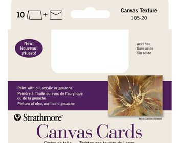 Canvas Cards 10 Pk