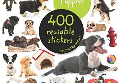 eyelike Puppies Reusable Sticker Book