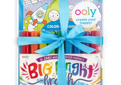 Ooly Big & Bright Outer Space Coloring Giftables