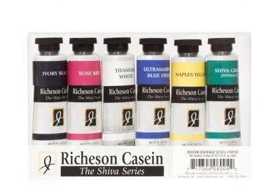 Richeson Casein Color Theory 6 Shiva Set