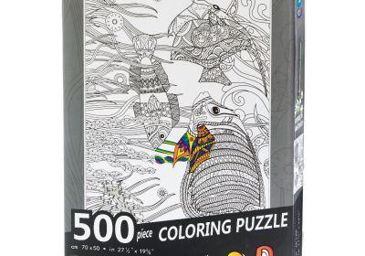 500 PC Coloring Puzzle Fish