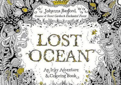 Lost Ocean-An Inky Adventure & Coloring Book