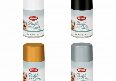 Krylon Paper Finishes Stained Glass Sheer Yellow Spray 3oz