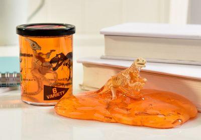 New World Lg. Dino Design Putty, 6 Asst.,