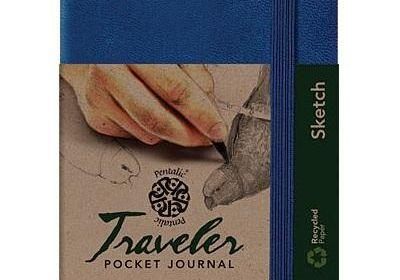 Traveler Pocket Sketch 3 x 4 Royal blue