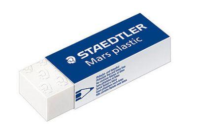 Mars Wht Plastic Eraser