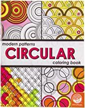 Modern Patterns Circular Coloring Book