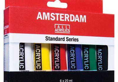 Amsterdam Acrylic Set 6 20ml