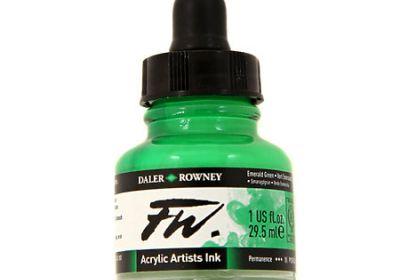 FW Acrylic Ink Raw Sienna 1 oz