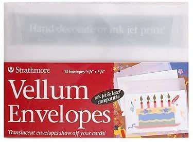Strathmore Vellum Envelopes