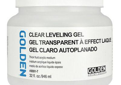 Golden Clear Levening Gel 16oz