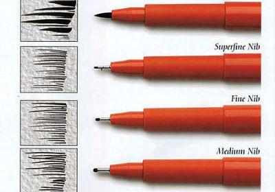 Pitt Pen 1.5 Bullet Black