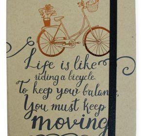 Life is Like-Kraft Journal