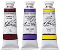 M. Graham Naples Yellow Oil