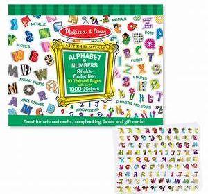M&D Sticker Pad Alphabet