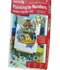 Reeves Painting by #'s Artist Starter Set