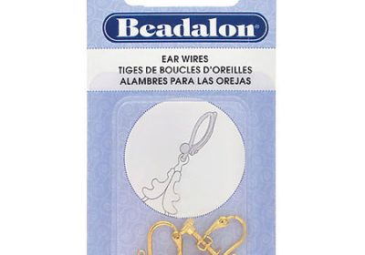 Gold Ear Wires 6pc