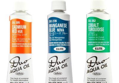 Holbein Duo Aqua Oil Rose Grey 330