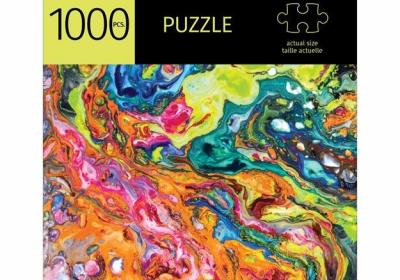 Liquid Paint 1000 Piece Puzzle