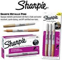SHARPIE MARKER METALLIC GOLD