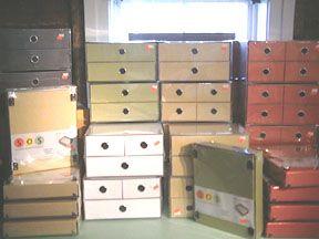 SOS 2 Drawer Storage Box-Natural
