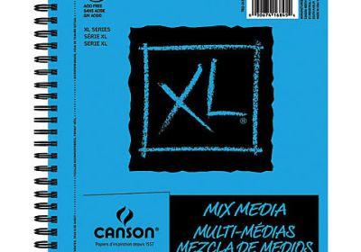 XL mixed media 14x17