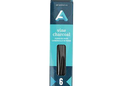 AA vine charcoal soft 3pk