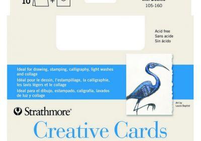 Creative Cards 10 Pk Palm Beach Straight Edge