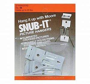 Moore Picture Hangers 50lb