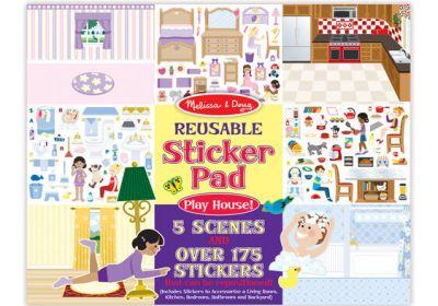 M&D Sticker Pad Play House