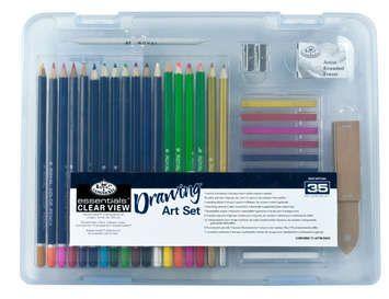 R&L Essentials Drawing Set 35 pc