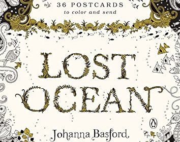 Lost Ocean Coloring Postcard 36