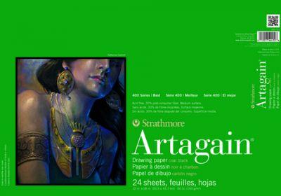 Artagain Black 12x18 24/pad