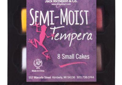 JR Semi Moist Tempera Cakes 8 Set