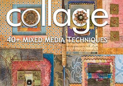 Fabric Art Collage