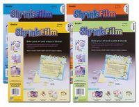 Inkjet Shrink Film White 8.5X11 6 Pack