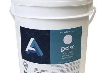 AA 1 gallon white gesso