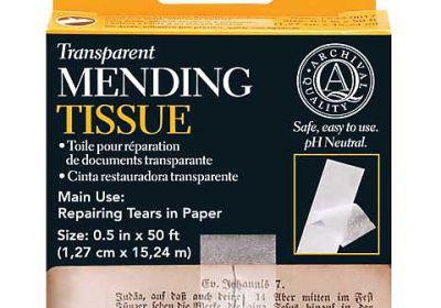 Archival Mending Tissue