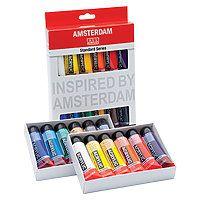 Amsterdam  Acrylic Paint Set 12 Color Set - 20ml