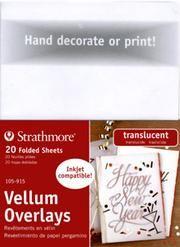 Strathmore Vellum Overlays